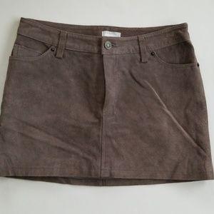 Cooperative UO suede mini skirt 2